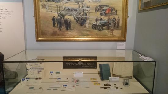 Inverness Museum and Art Gallery: Scottish Airways exhibits