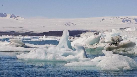 Bustravel Iceland: Ice in the glacier lagoon