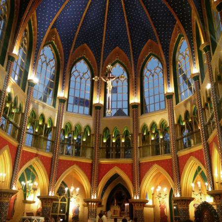 Basilica de la Virgen de Fatima en Tocancipa. Los Caballeros de la Virgen.