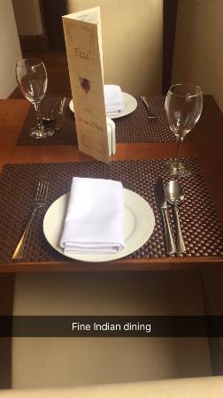 Brackley, UK: Fine dining