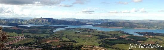 Carmo do Rio Claro, MG: Vista do Alto da Serra da Tormenta