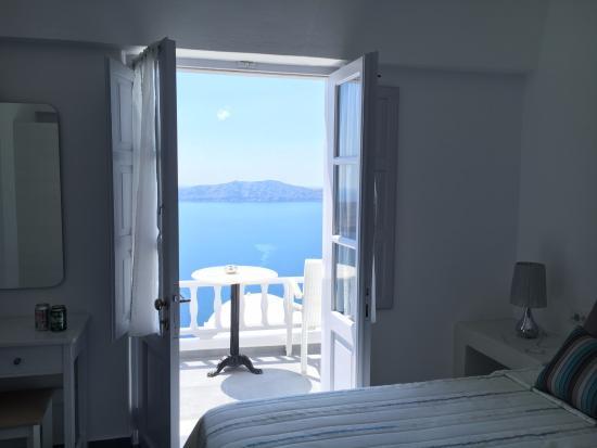 Santorini View-bild