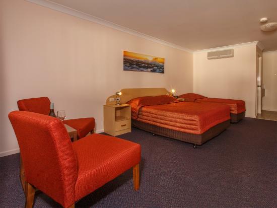 Biloela, ออสเตรเลีย: Queen/Twin Room