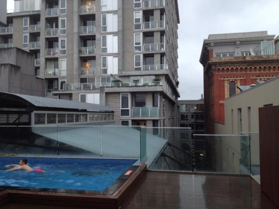 Tribeca Serviced Apartments Pool Not In The Same Building As Room