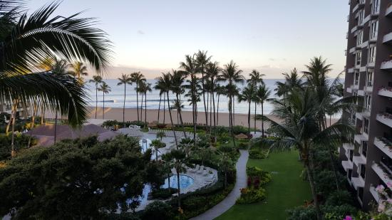 Kaanapali Alii: View from the balcony