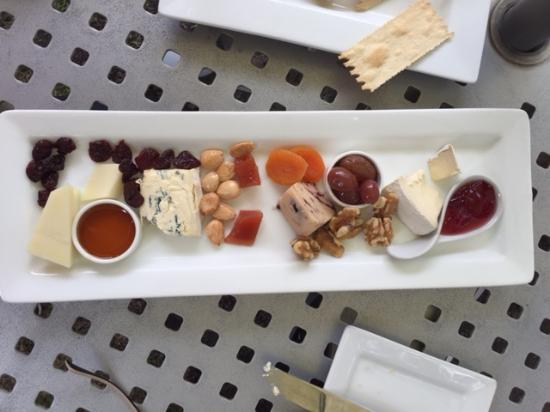 Plymouth, CA: Cheese plate
