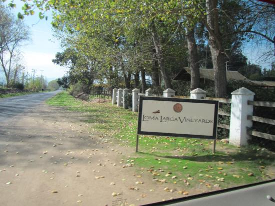 Casablanca Valley Wine Route: Wineries are well labeled
