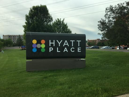 Hyatt Place Minneapolis/Eden Prairie: Entrance sign