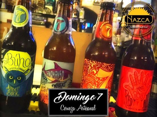 Bar & Restaurante Nazca: Cervezas Artesanales