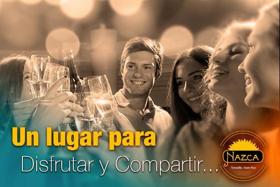 Bar & Restaurante Nazca: Un buen lugar para compartir con amigos