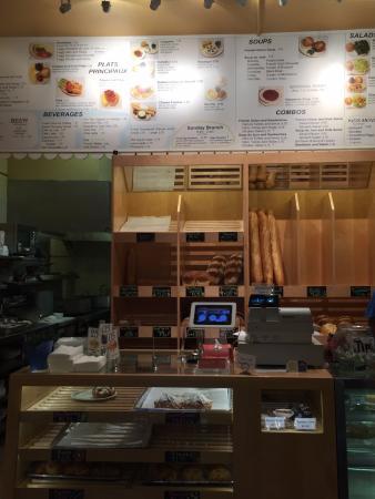 LA Baguette - Old Colorado City: Great menu!