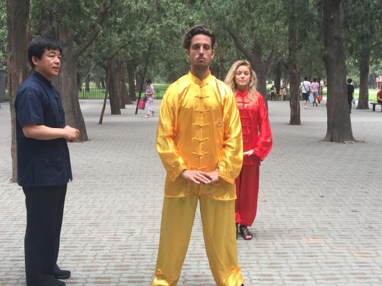 Tai Chi Class - Picture of Experience Tai Chi in China