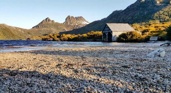 Cradle Mountain Wilderness Village: Lake St. Claire walk
