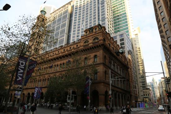 Grand Post Office (GPO) Sydney: Closer view