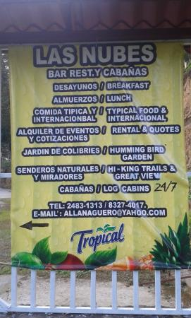 Bar Restaurante y Cabanas Las Nubes