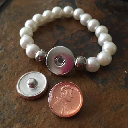 Treasure Snap Jewelry with Susan's Preciosu Penny - Magnetic