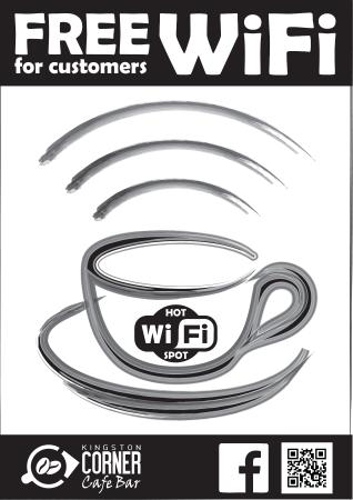 Kingston, New Zealand: FREE WiFi for Customers