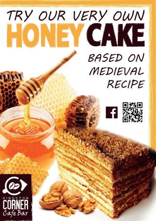Kingston, New Zealand: Our Speciality - Homemade HONEY Cake