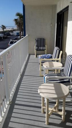 Catalina Beach Club: Balcony of 2 bedroom