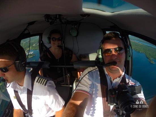 Gananoque, Canada: L'hélicoptère est super. Même notre fille de 2 ans a adoré