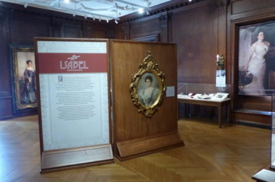 Anderson House:  Isabel Weld Perkins - exhibition in library