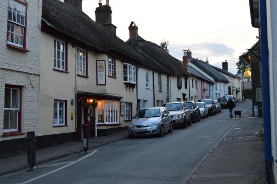 Chulmleigh, UK: Sleepy village