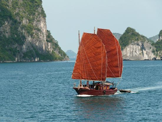 Junks of Indochina - Cat Ba