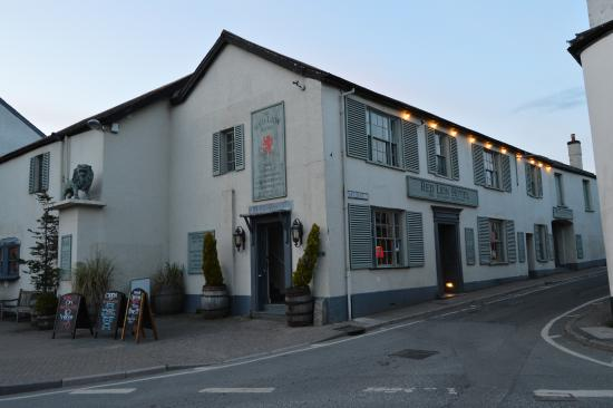 Chulmleigh, UK: The Red Lion