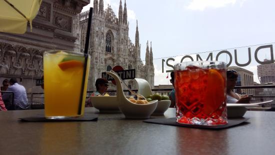 Vista Duomo dalla terrazza martini - Picture of Terrazza Martini ...