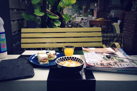 Baan JaJa: 早餐