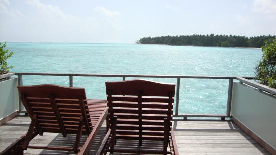 Water Bungalow View Picture Of Sun Island Resort And Spa