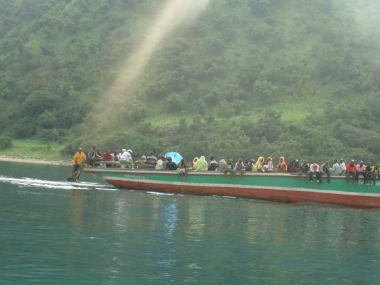 Lake Tanganyika,Kigoma region,Tanzania.People from Burundi travelling to tanzania