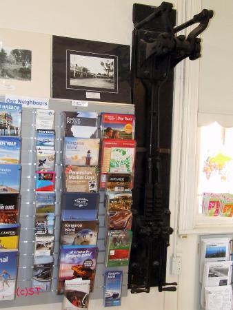Strathalbyn Visitor Information Centre: old signal handle