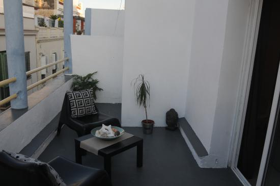 هوتل بلايا دورو: terraza