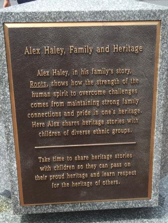 The Kunta Kinte - Alex Haley Memorial: photo2.jpg