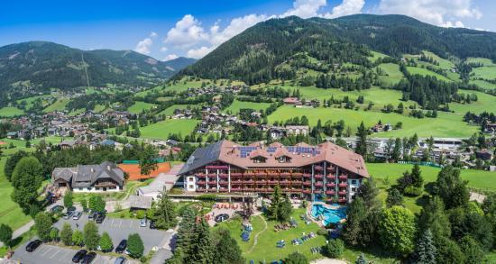 Harmony's Hotel Kirchheimerhof: Panoramablick Hotel Kirchheimerhof