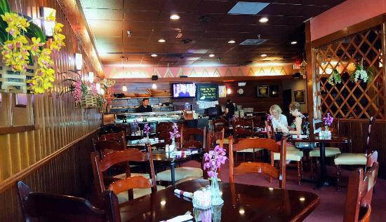 Thai Restaurant Dining Room
