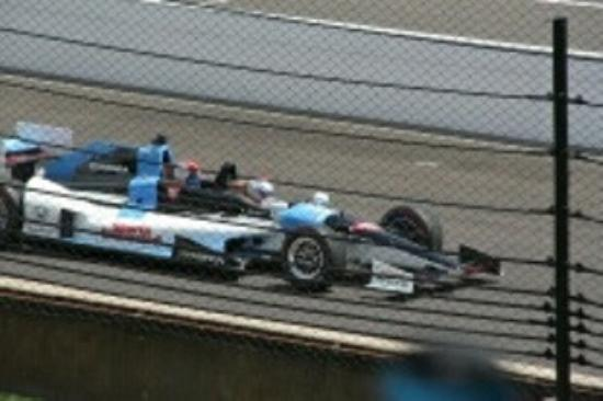 2 seater Indy Car - Andretti & Lady a - Picture of Indy 500 ...