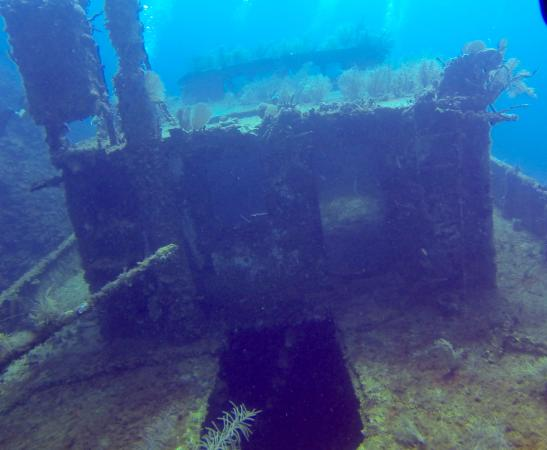 Barefoot Divers: Mr Bud Wreck Dive
