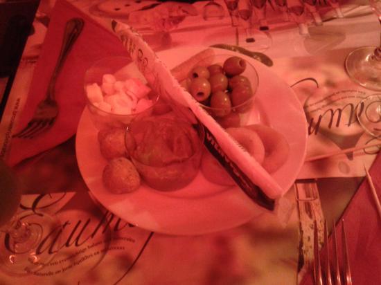 Le Saint Germain : L'assiette à partager