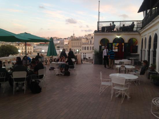 Hotel Continental : terrasse