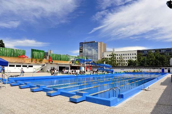 Retro swimming pool Ilirija