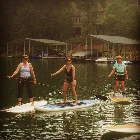 Seneca, SC: Stand Up Paddleboard Lesson in YOLO Lagoon