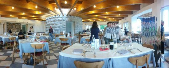 Bocca di Magra, Italy: la bellissima sala da pranzo