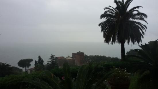 Bocca di Magra, Italia: anche con la pioggia...