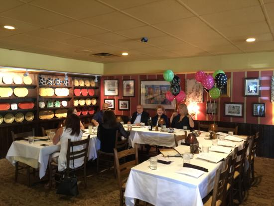Paesano S Back Room Available For Large Groups
