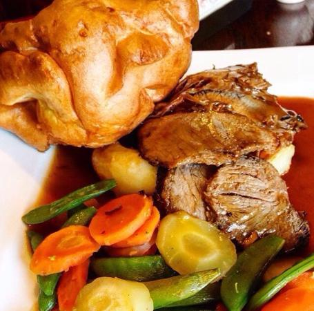 Roast Beef at the Red Lion!