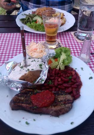 Klipphausen, Alemania: Steak Argentinisch