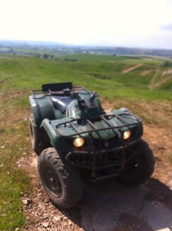 Kendal, UK: Just a sneak peak at whats in store if you come quad biking... :O