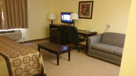 Muleshoe, TX: King suite